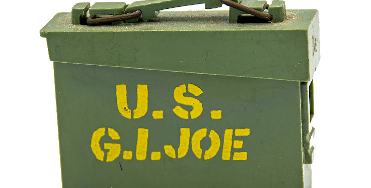 GI Joe Vintage Ammo Box set of 2