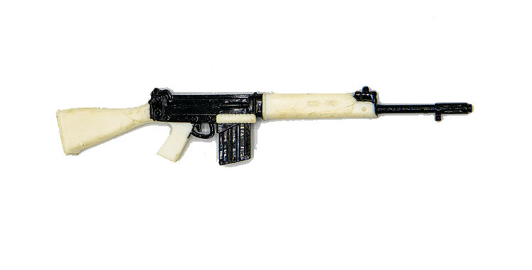 GI Joe Vintage Action FN Rifle
