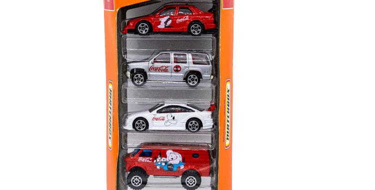 Matchbox set of 5 Coca Cola  Cars