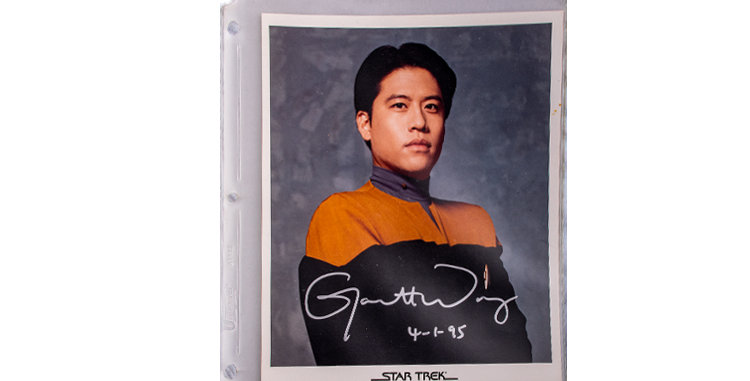 Autograph of Garrett Wang played Harry Kim