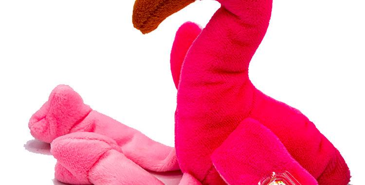 Beanie Babies  Pinky the Flamingo Beanie Baby