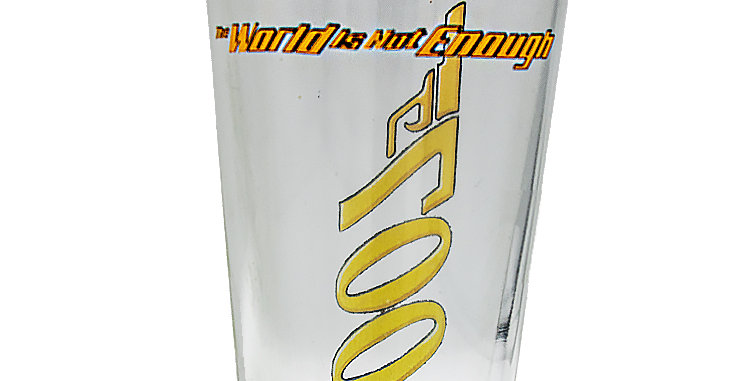 Glassware Glass James Bond 007 The World is not Enough