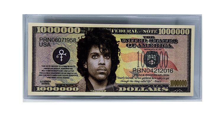 Prince Million Dollar Bill