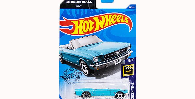 James Bond Thunder Ball 65 Mustang Convertible