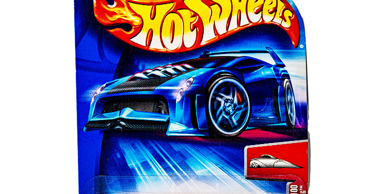 Hot Wheels 2004 First Editions Crooze Ozzinberg