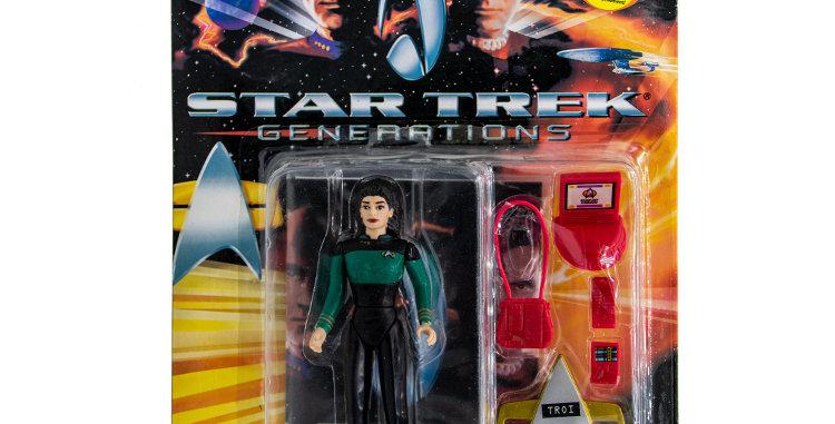 Star Trek Action Figure Troi Playmates Toy