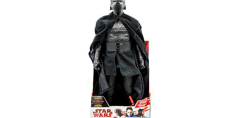 Large Figurine Kylo Ren Jakks Pacific Finn The Last Jedi