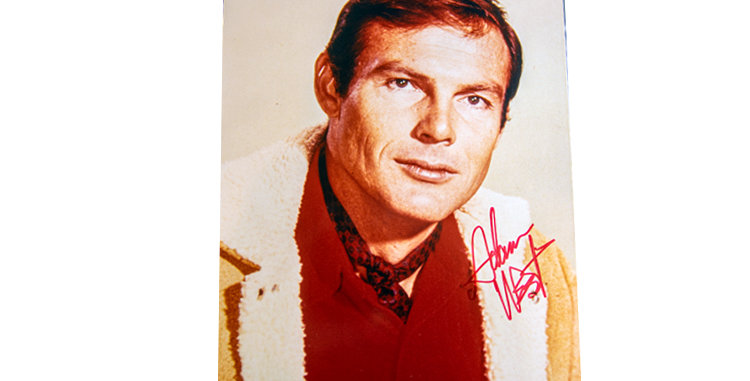 Autograph of Adam West who played Batman