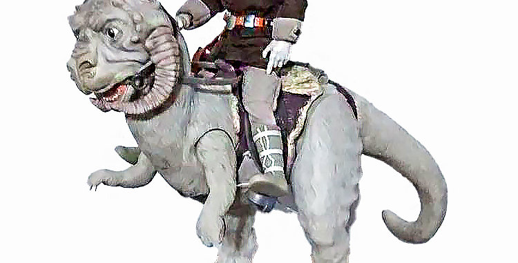 Star Wars 12 Inch  Han Solo and Taun Taun Hoth Action Figure