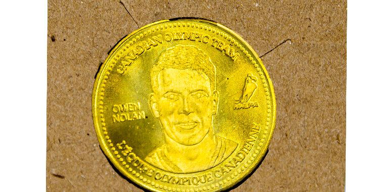 Coin Olympic Coke Hockey Owen Nolan