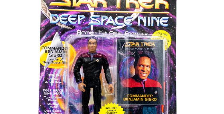 Star Trek Action Figure Sisko Playmates Toy