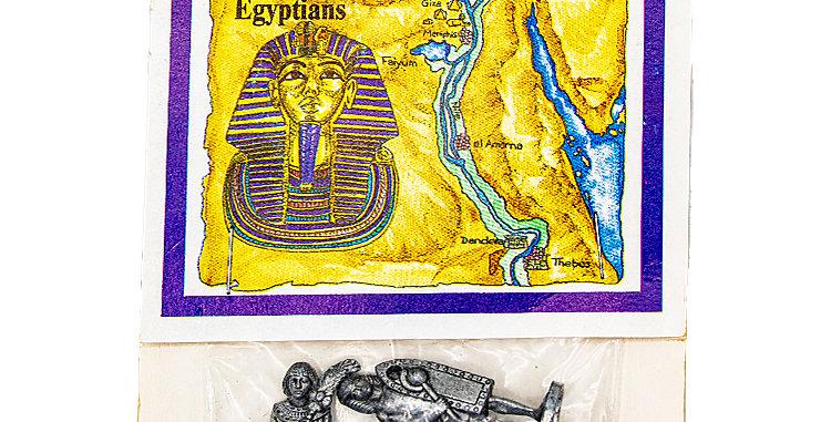 Ancient Egyptians Metal Figures