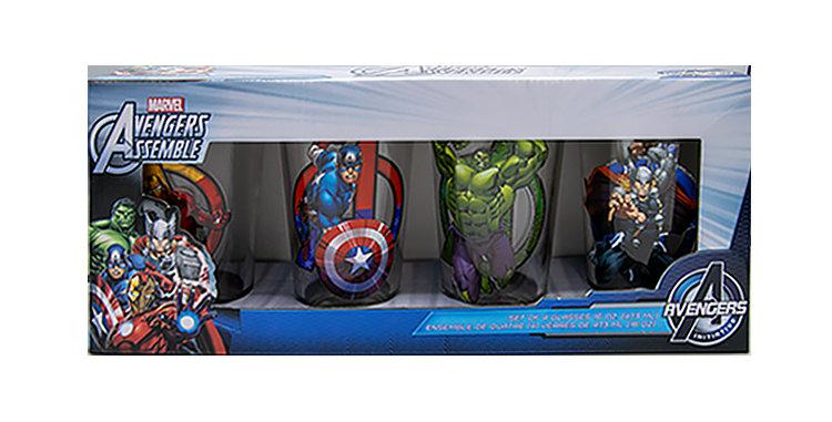Avengers Drinking Glass Set