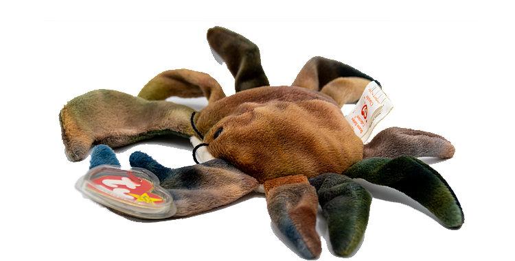 Beanie Babies  Claude the Crab  Beanie Baby