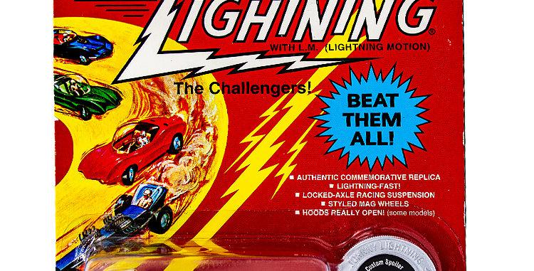 Johnny Lightning Car Commemorative Custom Spoiler