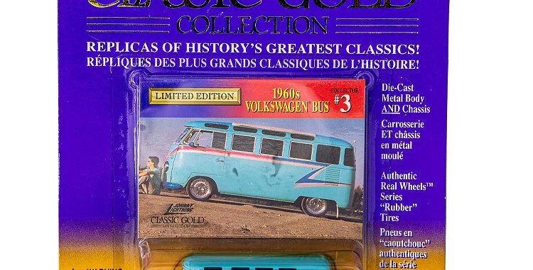 Johnny Lightning Classic Gold 1960s VW Bus