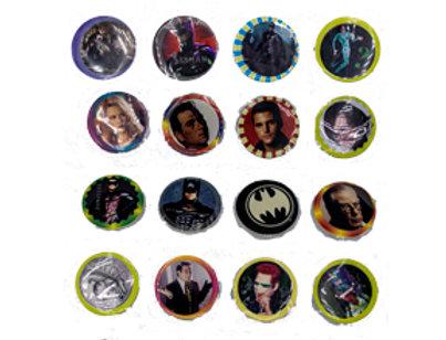 Batman Forever Pogs 1990 31 Pogs in group