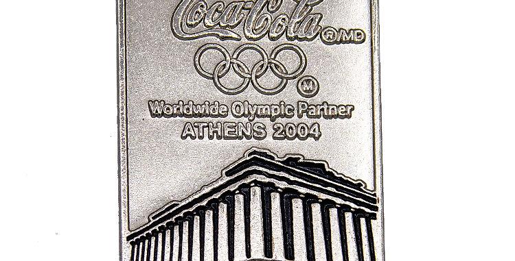 Coca Cola Pin Athens Olympics