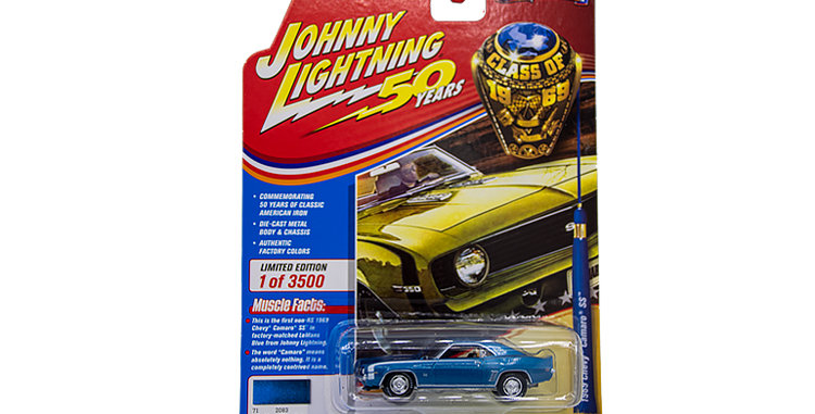 Johnny Lightning 1969 Chevy Camaro SS