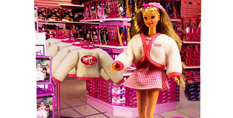 Barbie on the Bay. Hudson's Bay Department Stores