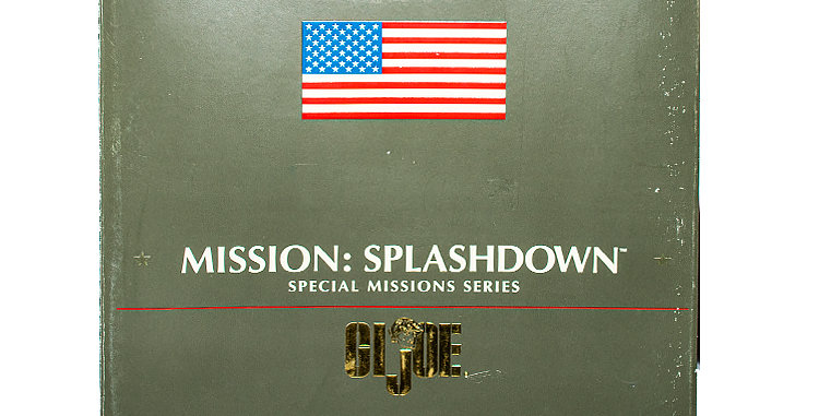 GI Joe Special Missions Series 12 Inch Mission Splashdown