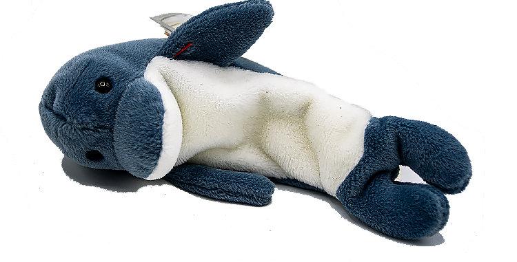 Beanie Babies  Echo the Dolphin Beanie Baby