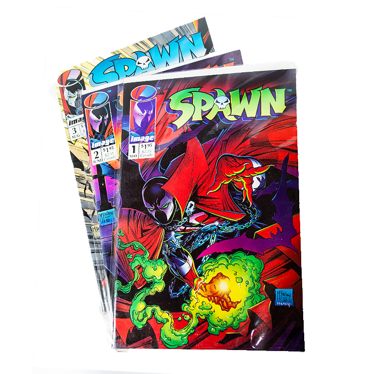 Comics Spawn 1 2 and 3