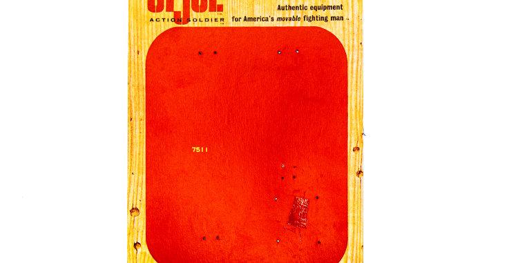 GI Joe VIntage Orignal Card Backing