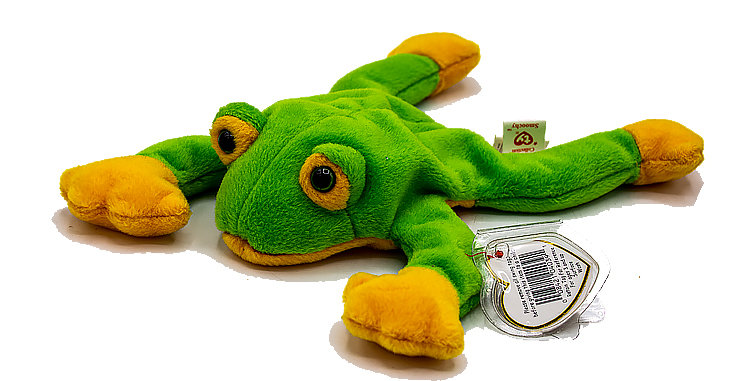 Beanie Babies Smoochy the FrogBeanie Baby