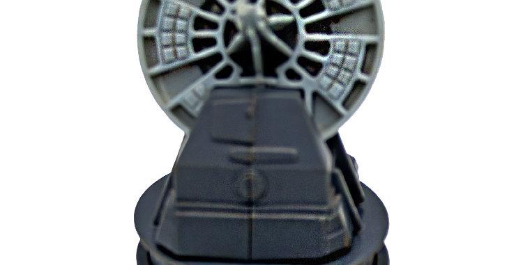 Star Wars Vintage 3.75 Inch Radar Laser Cannon Mini Rig