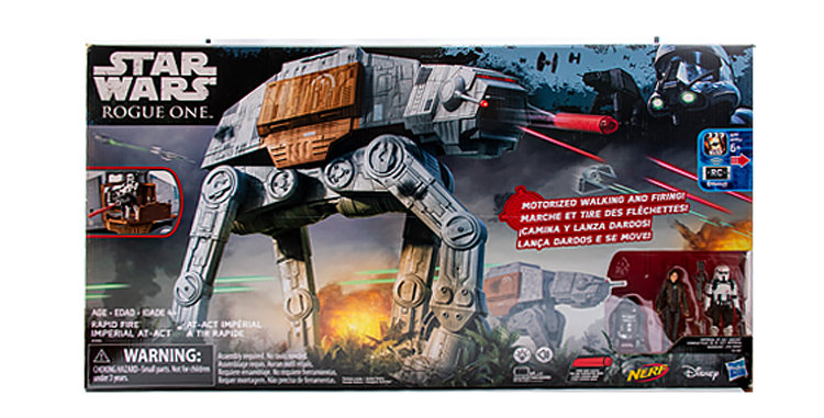 3.75 Inch Imperial AT-AT Rapid Fire Rouge One