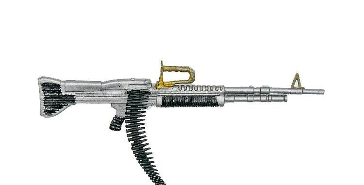 GI Joe Vintage Action Man M60 Machine Gun No Bipod