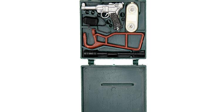 GI Joe Vintage  Action Man Spy Briefcase and Accessories