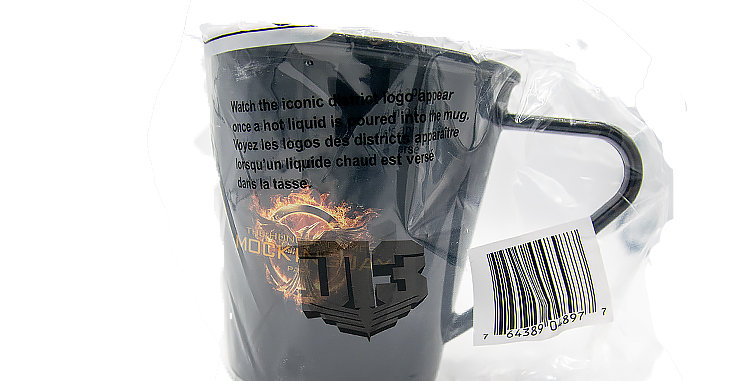 Hunger Games Mug Mocking Jay District 13