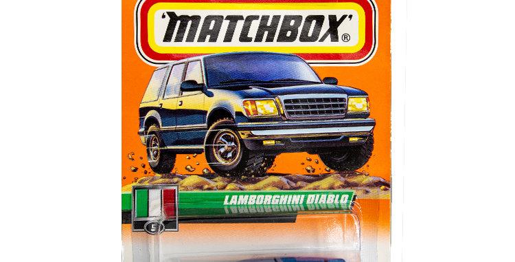 Matchbox Cars Lamborghini Diablo Marked 1999