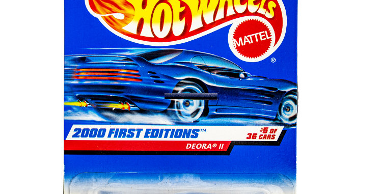 Hot Wheels  2000 First Editions Deora II