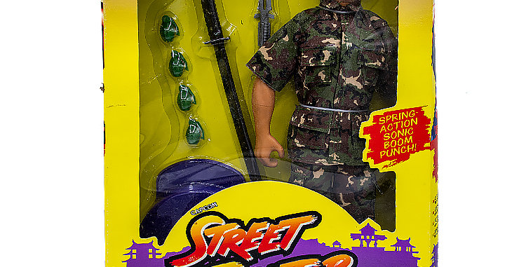 GI Joe Street Fighter 12 Inch Colonel Guile