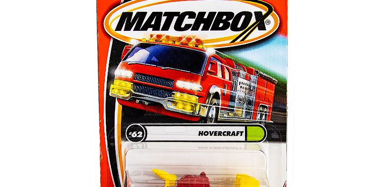 Matchbox Cars Hovercrarft  Marked 2000