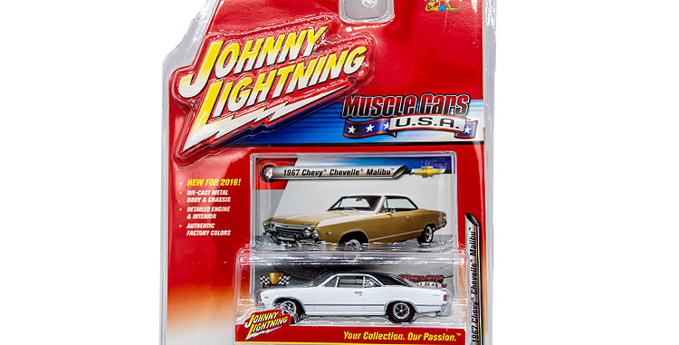 Johnny Lightning 1967 Chevy Malibu