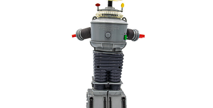 Sci-Fi Lost In 10 Inch Space Robot B9