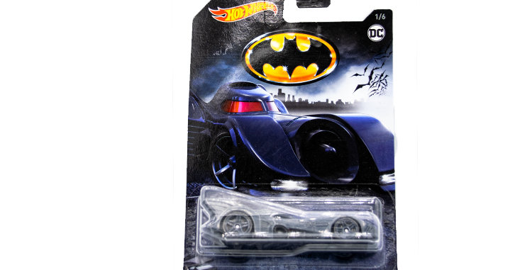 Batman Hot Wheels car 1/64th scale