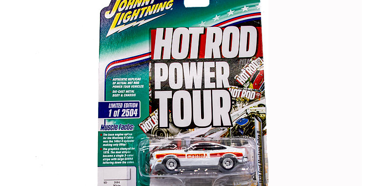 Power Tour Hot Rod 1 of 2504 Ford Mustang Cobra II