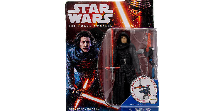 3.75 inch Kylo Ren The Force Awakens