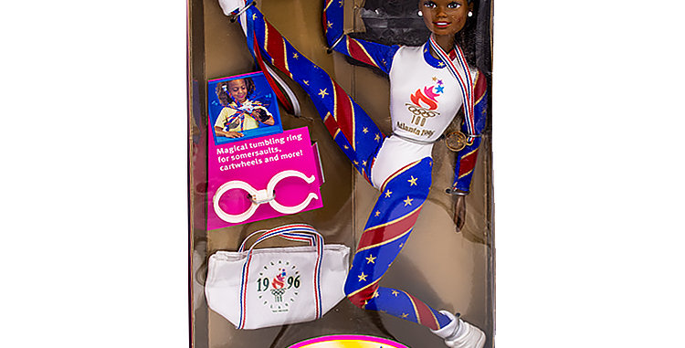 Barbie Olympic Gymnast 1996