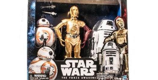 12 Inch BB8 , C3P0, R0-4L0 The Force Awakens