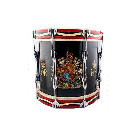 British Army Snare Drum Queen Elizabeth
