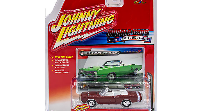 Johnny Lightning Muscle Cars USA 2016  #5 1969 Dodge Coronet R/T