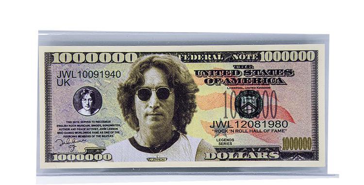 John Lennon Million Dollar Bill
