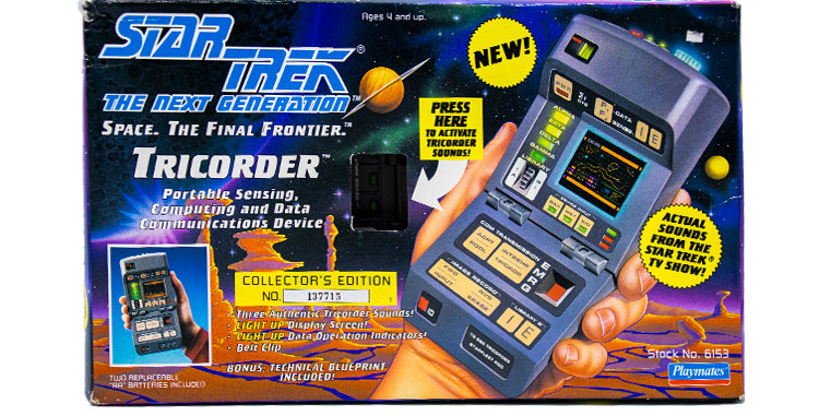 Star Trek Next Gen  Tricorder Toy Prop