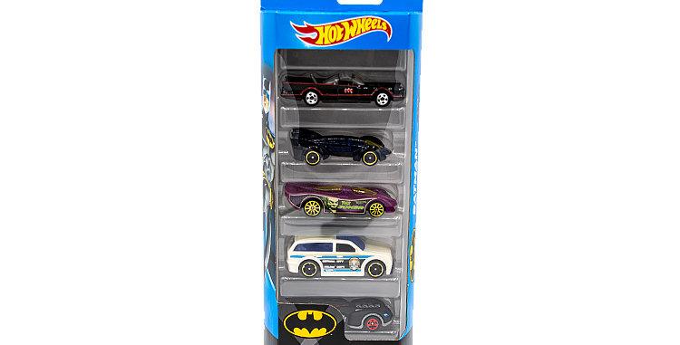 5 Pack Hot Wheels Batman